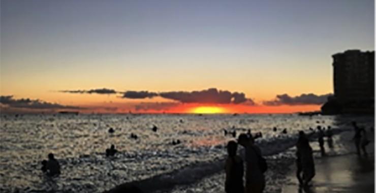 憧れのハワイ旅行